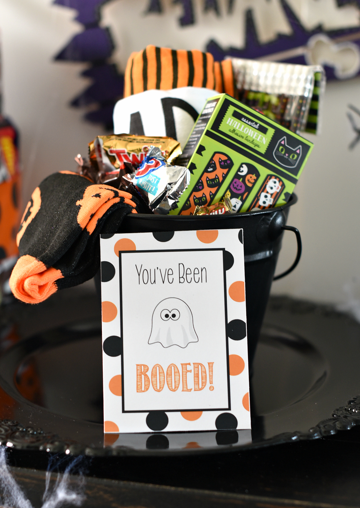 photograph regarding You've Been Booed Printable Pdf referred to as Youve Been Booed - Adorable Totally free Printable Tags Halloween