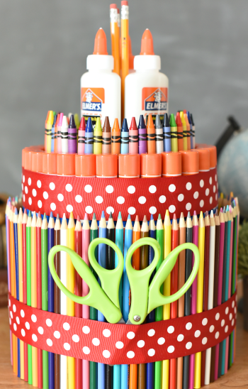 School Supply Cake