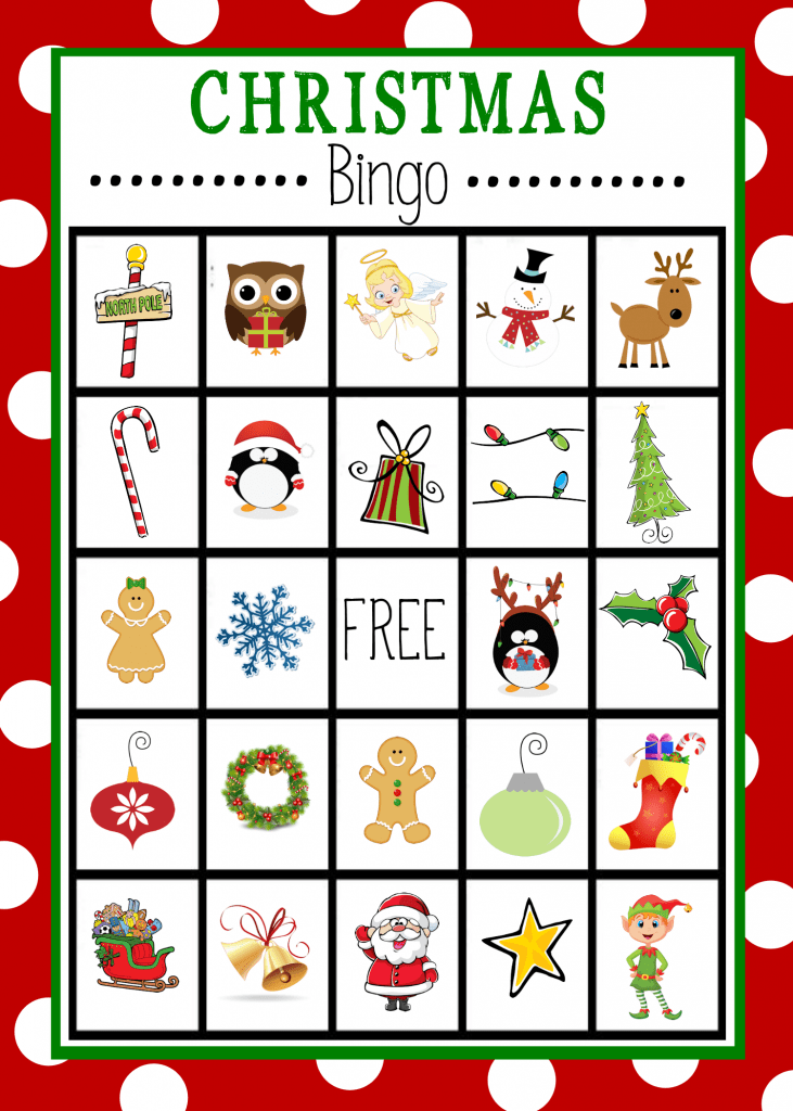 picture about Printable Bingo Game Patterns identified as Cost-free Printable Xmas Bingo Video game Exciting-Squared