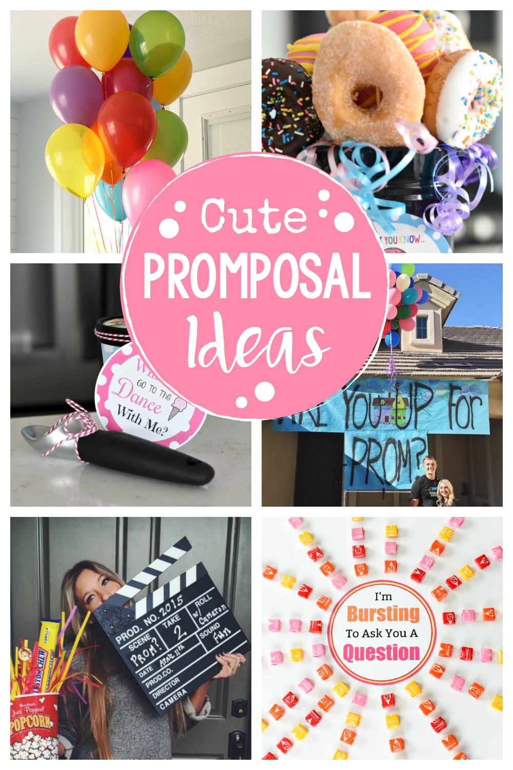 Cute Promposal Ideas-These are fun ways to ask someone to Homecoming, Prom or another dance. These promposals are simple, creative and fun! #homecoming #promposal #prom #dance