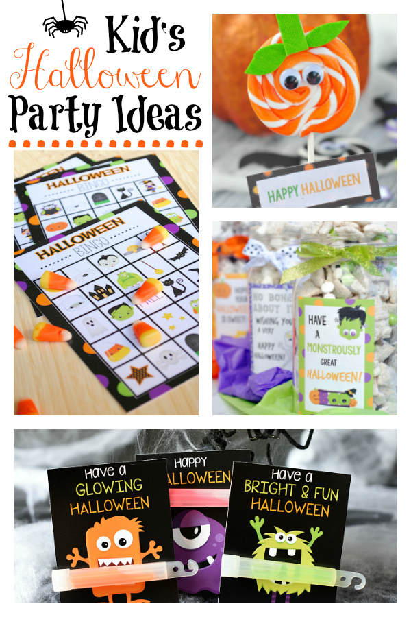 Fun Kid's Halloween Party Ideas! Learn how to throw the perfect Halloween party for your kiddos this year, from games to treats to favors and more. #halloweenparty #halloweengames #halloweepartyideas #partyideas #Halloween #Halloweenparty #Halloweenpartyideas #kid'shalloweenparties