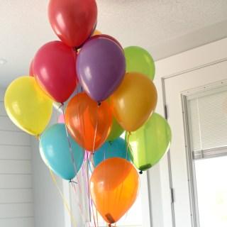 Money Balloons Gift Idea