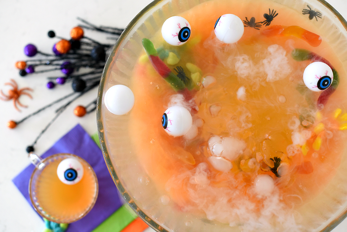 Cute Halloween Drinks for Kids