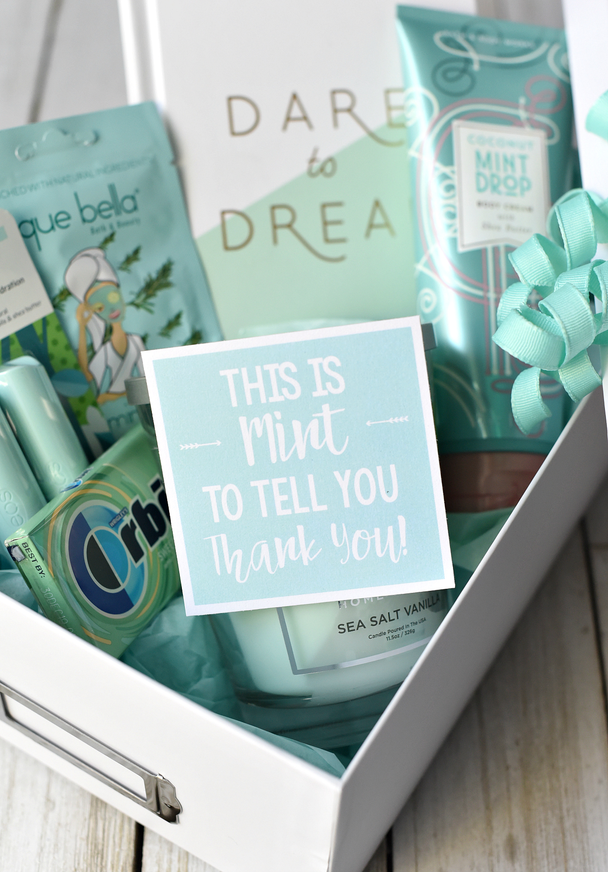 Mint Thank You Gift Idea