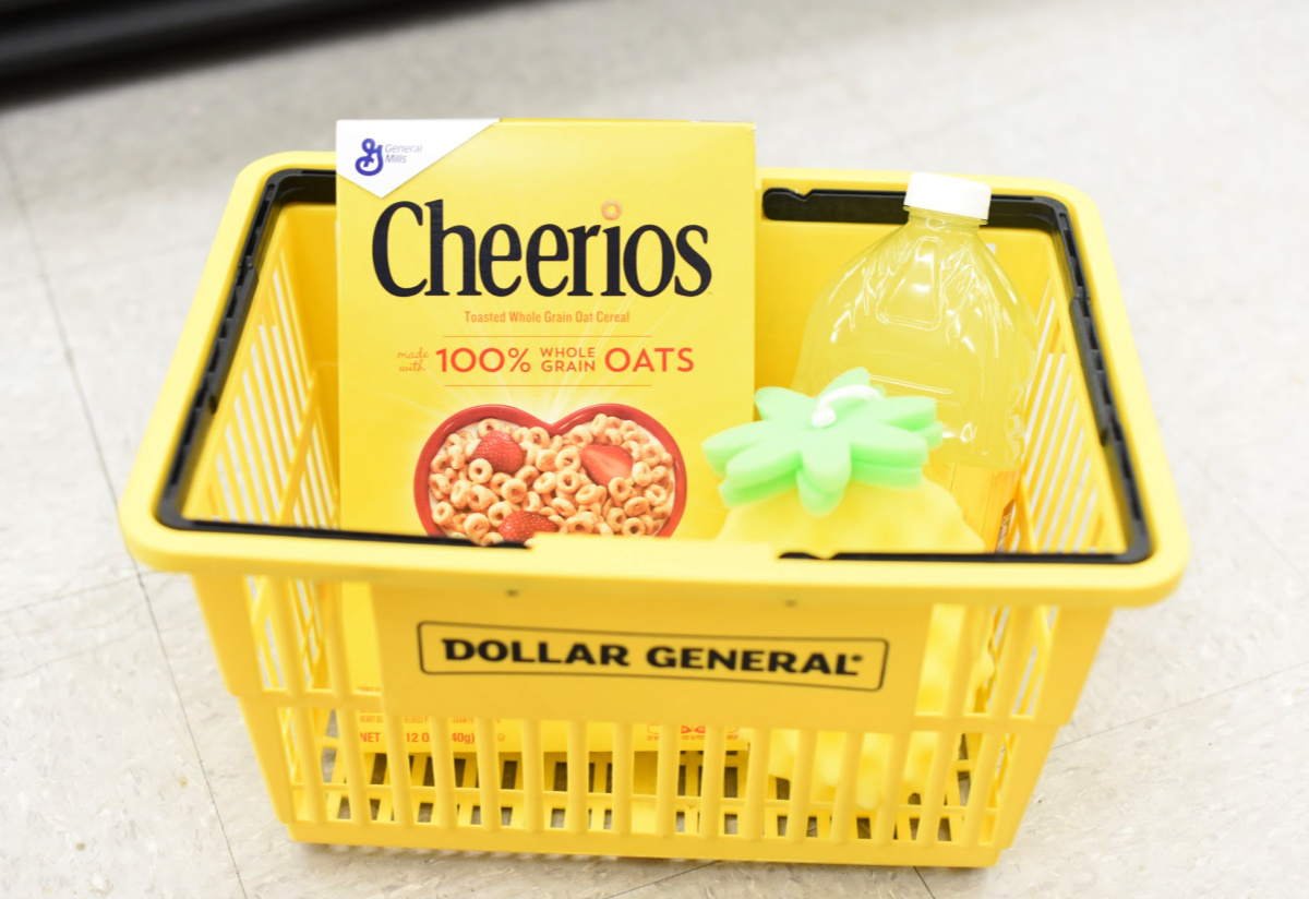 Yellow Gift Basket