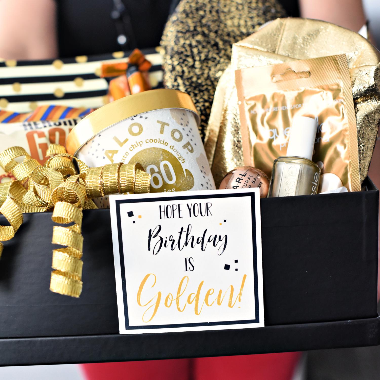 Golden Birthday Gift Idea