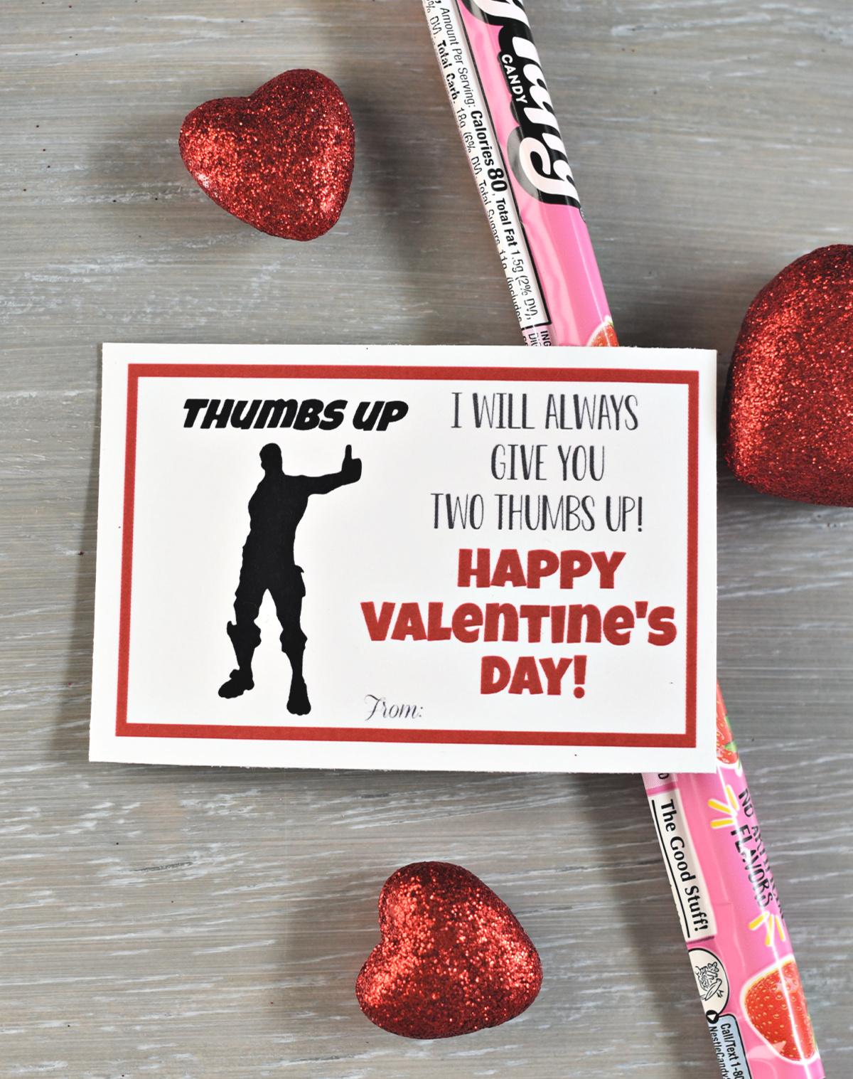 Printable Valentine's Tags