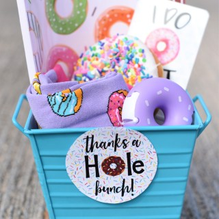 Donut Thank You Gift Idea