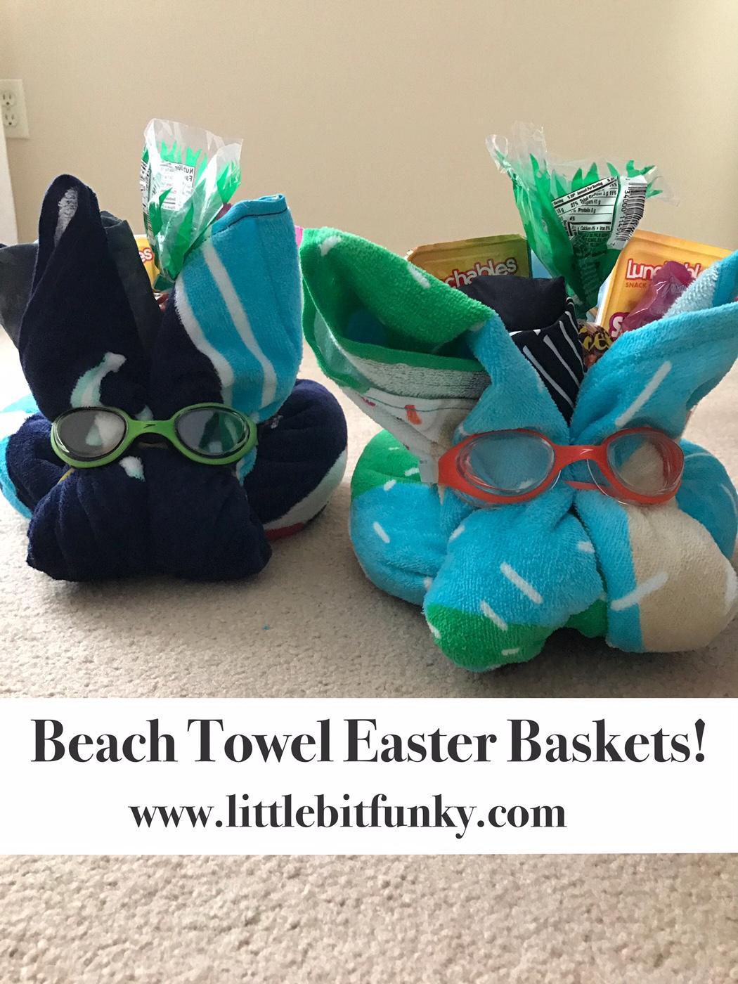 Beach Towel Basket