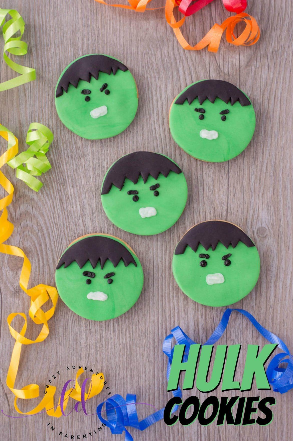 Superhero Desserts