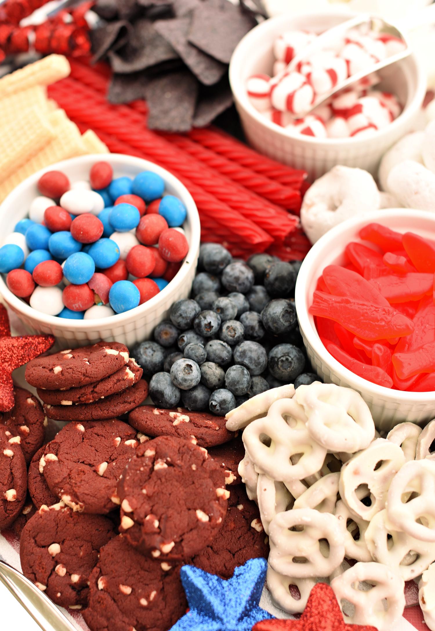 Patriotic Party Food