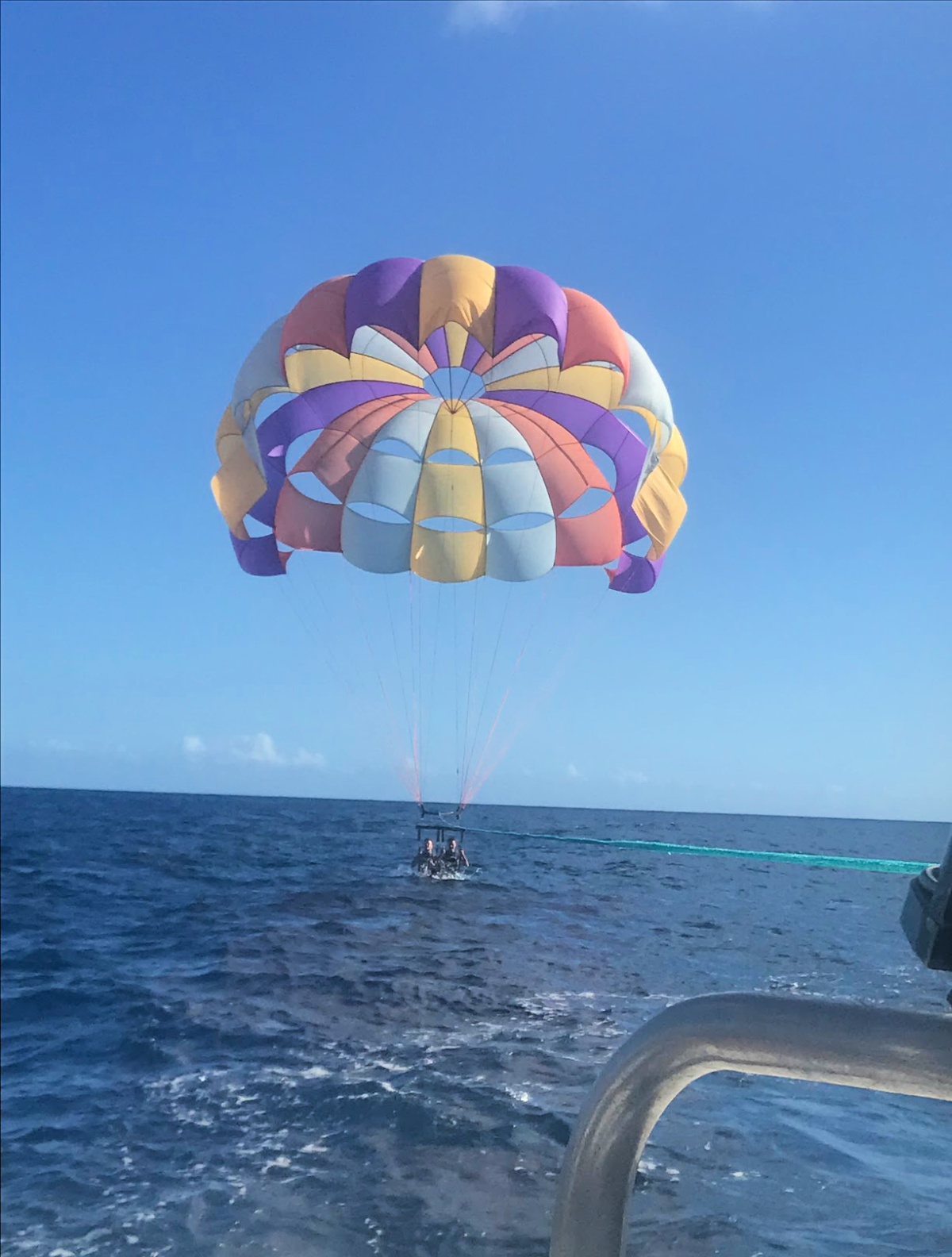 Fun with Parasailing