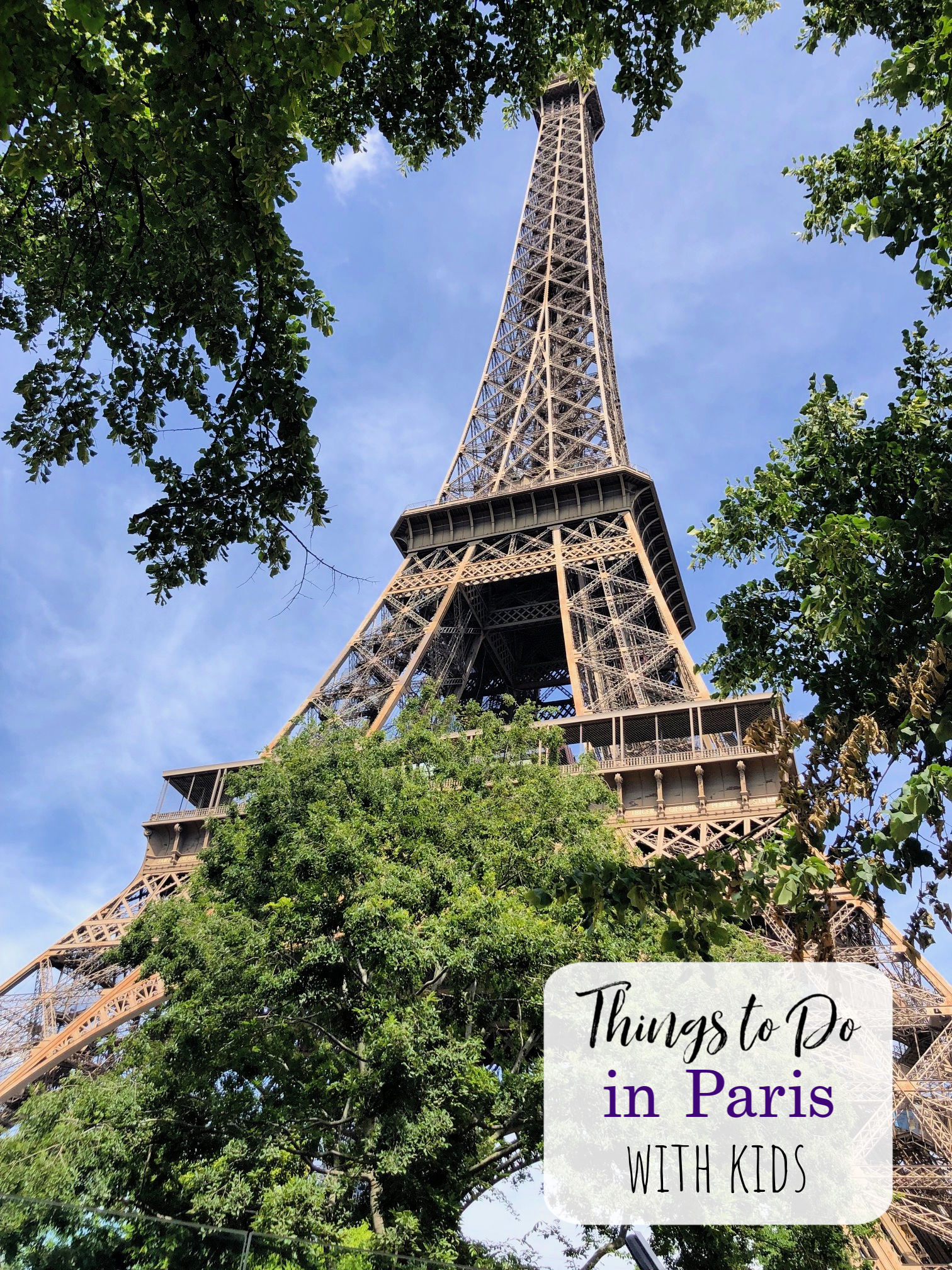 Things to do in Paris with Kids-If you're planning a trip to France with kids in tow, these fun things to do in Paris with kids will help you make the most of your trip. #travel #travelwithkids #paris #france