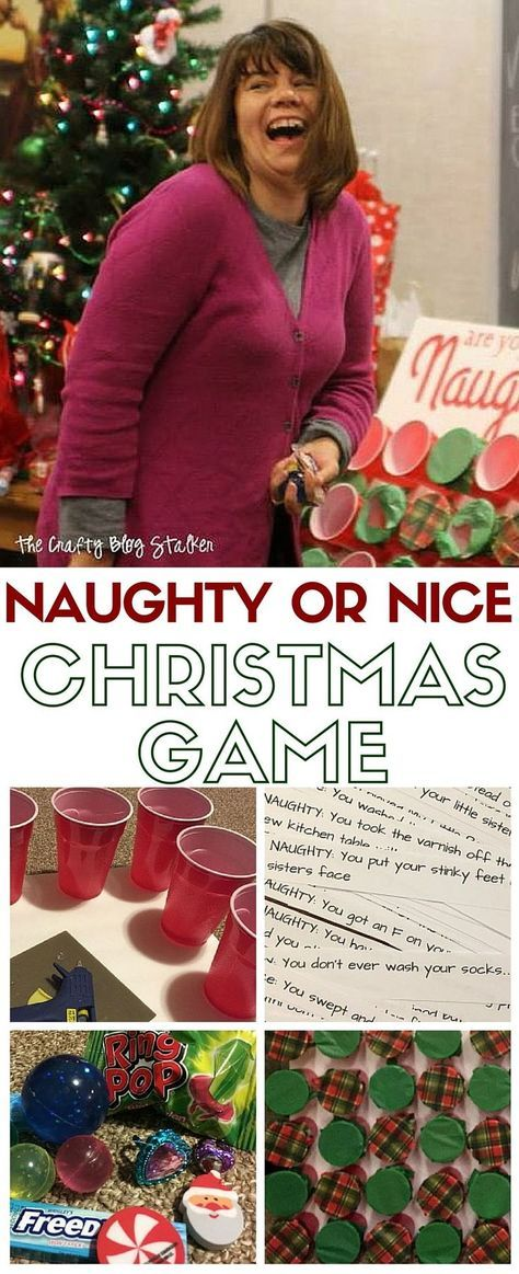 Naughty or Nice Christmas Game