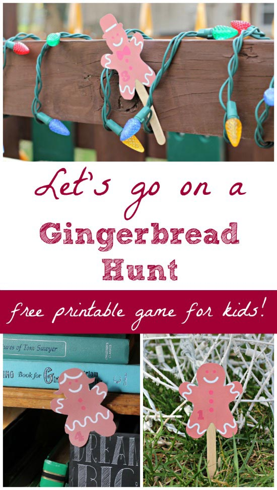 Gingerbread Hunt game