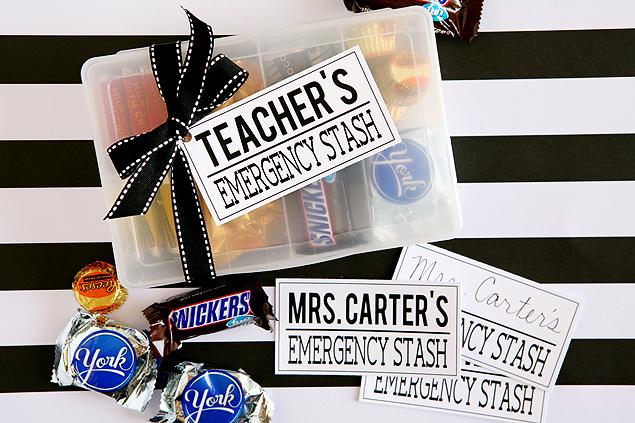 Teacher's Emergency Pack Gift Idea