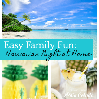 Hawaiian Themed Family Fun Night