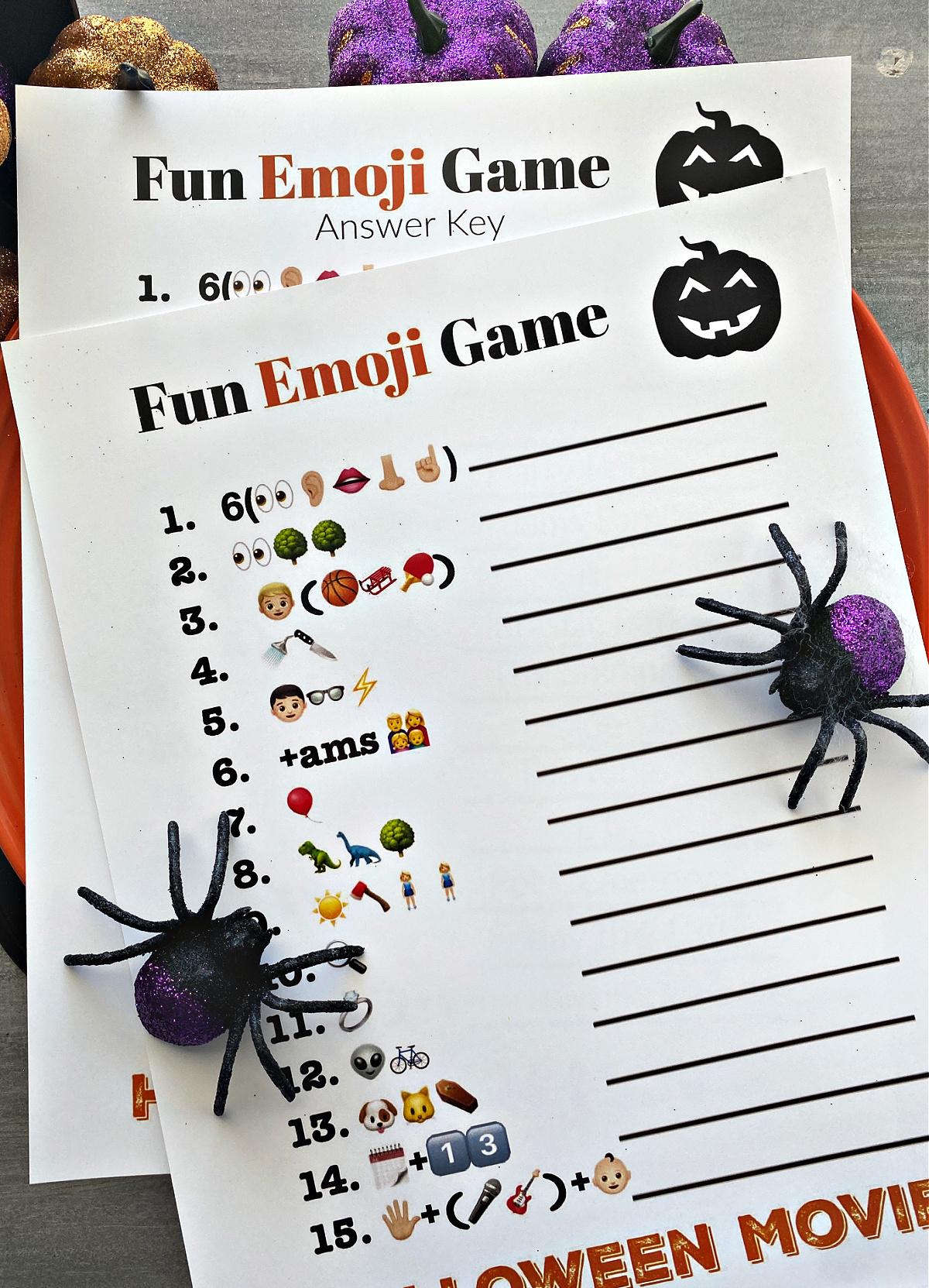 Fun Halloween Game