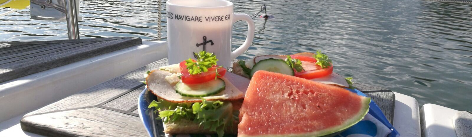 Breakfast at Turku Archipelago