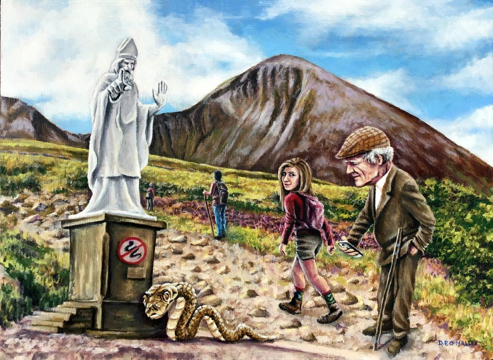 Croagh-Patrick, the holy mountain