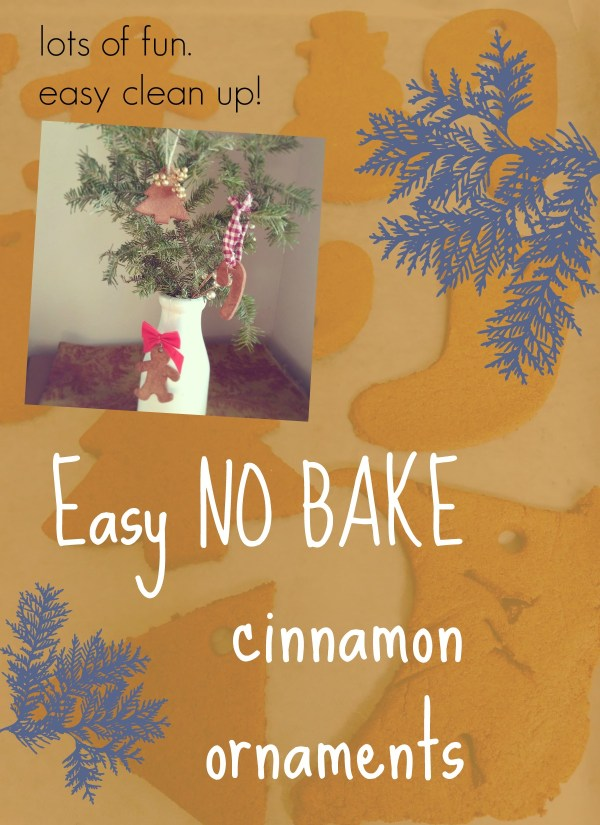 Easy No Bake Cinnamon Ornaments by @FunAsYouGrow