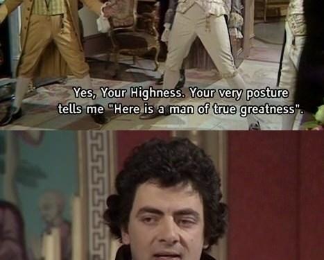Why I love British humor…