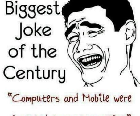 Biggest joke…