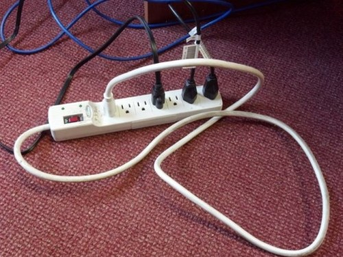 """A professor called, panicking, asking us for help. She said """"I plugged everything back in now nothing works!"""""""