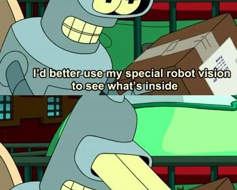 Gotta love Bender