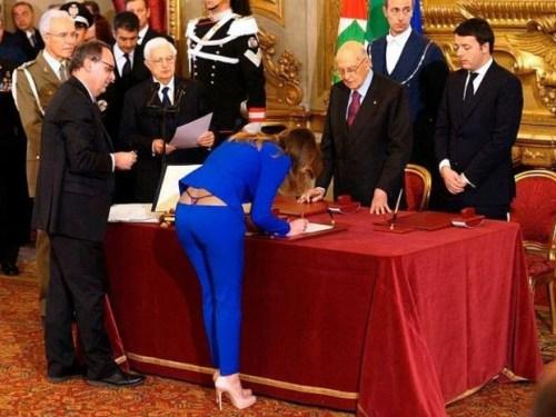 Italian politicians – always special