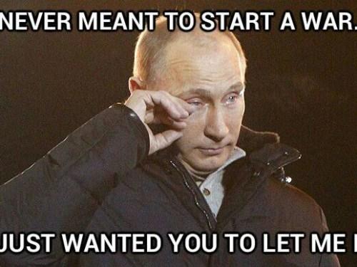 Poor, misunderstood Putin