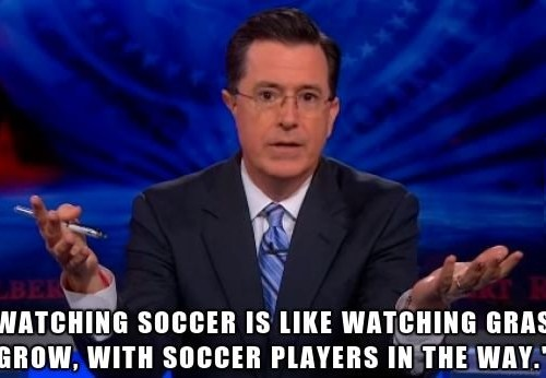 I actually like soccer
