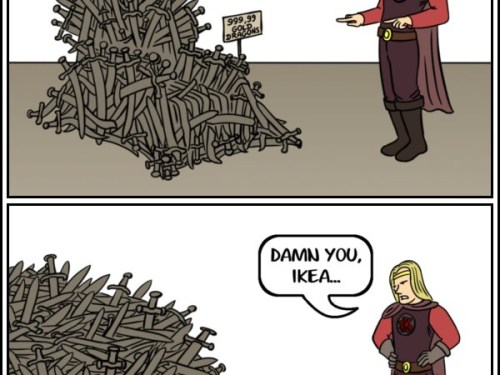 If Ikea made the Iron Throne