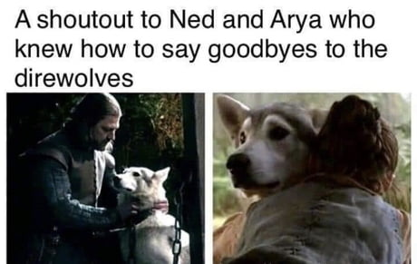 For those who still didn't get over Jon's goodbye to Ghost