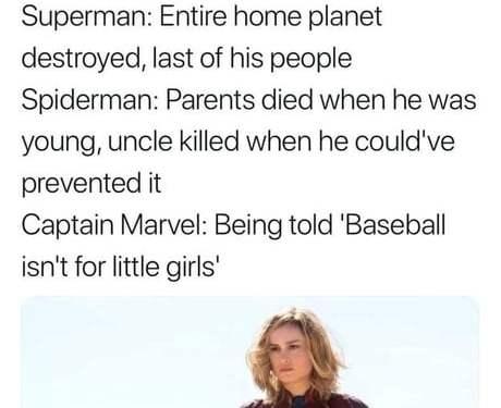 Tragic backstories