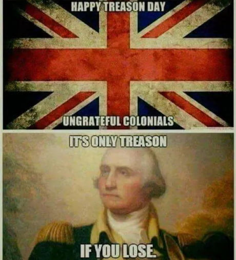 244 years later and y'all are still salty about it.