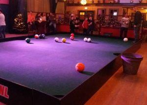 Poolball - voetpool