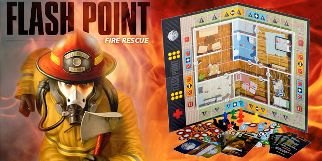 Flash Point  Fire Rescue Board Game   Fun Board Games Flash Point  Fire Rescue Board Game