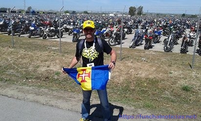 Parque motas no Jerez