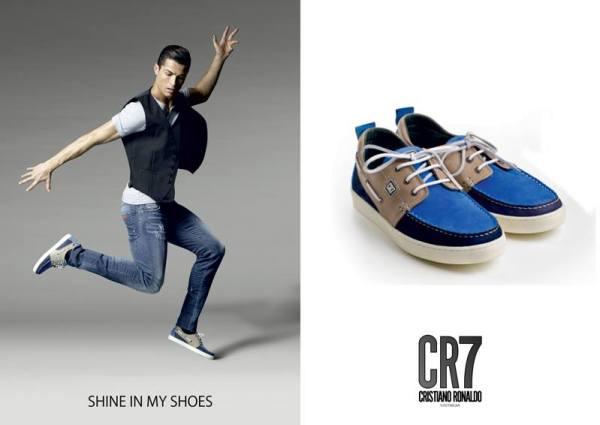 Calçado CR7, linha informal, Salsa Docksider Shoe