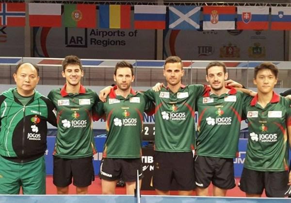 Equipa portuguesa a representar Portugal no Campeonato da Europa