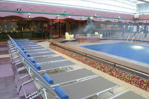 Costa Magica ship-deck