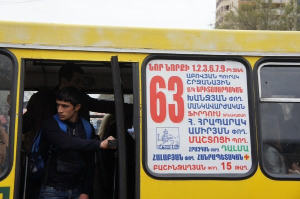 As deslocações não são fáceis para um estrangeiro, dado o alfabeto utililizado...