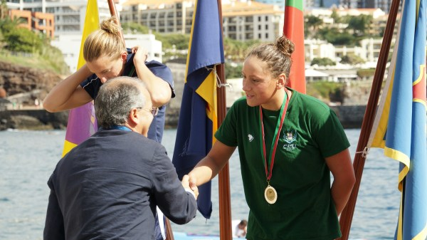 angélica andré madeira  swim marathon