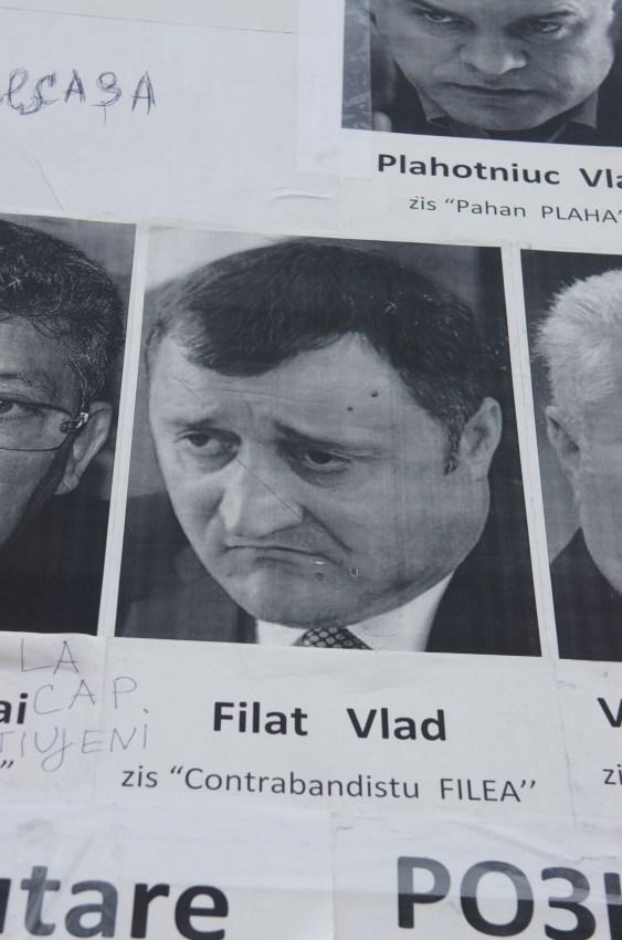 Filat Vlad, deputado, o único que está preso