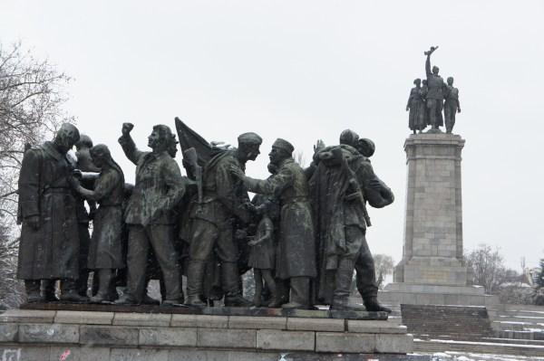 Memorial construído pela Rússia