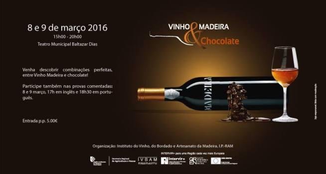 Teatro Baltazar Dias vinho e chocolate 2016