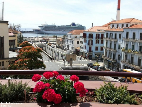 Vista mar do Oudinot, 3º andar restaurante olives