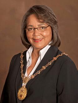 Patricia Delille, mayor de Cape Town