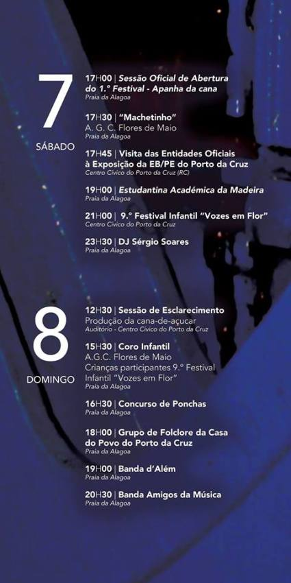 Festival Apanha da Cana Porto da Cruz